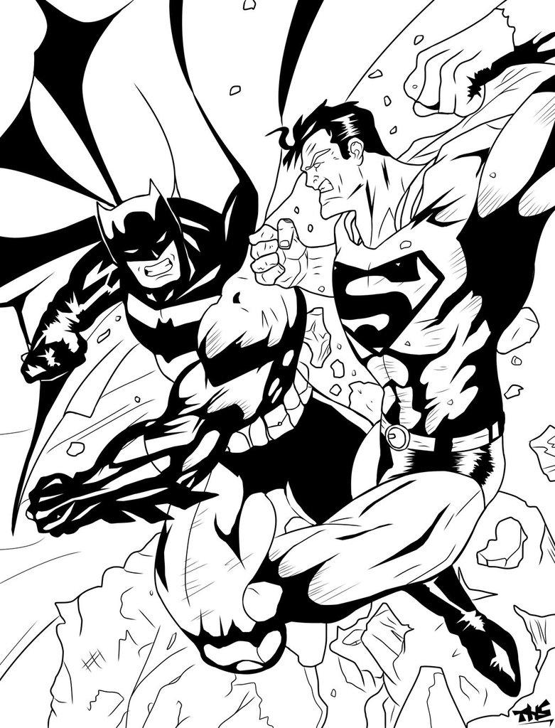 781x1024 Batman Vs Superman By Tomasu815