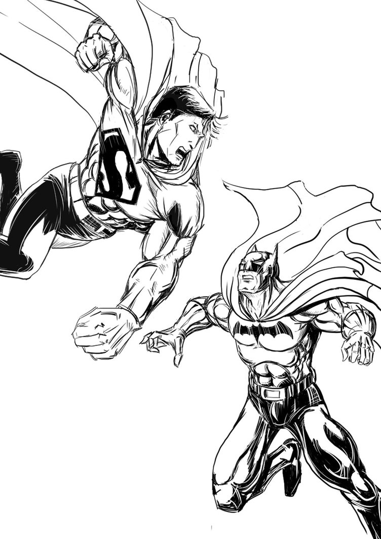752x1063 Batman Vs Superman By Youmusi22