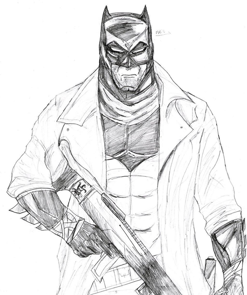 1024x1222 Knightmare Batman V Superman Pencils By Soyelmejor999