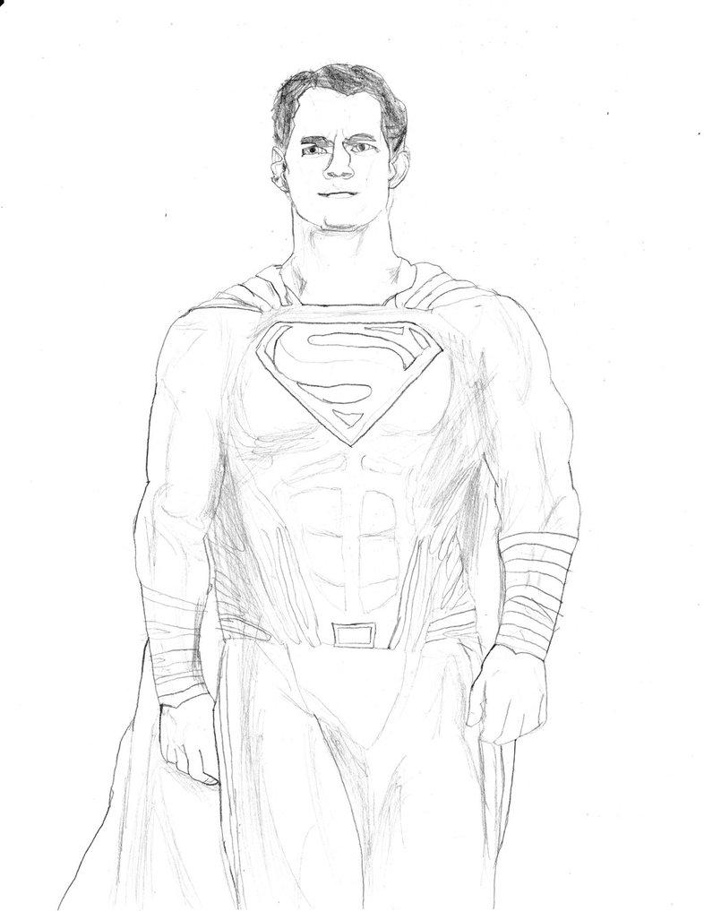 786x1017 Superman (Batman V Superman) By Homer311