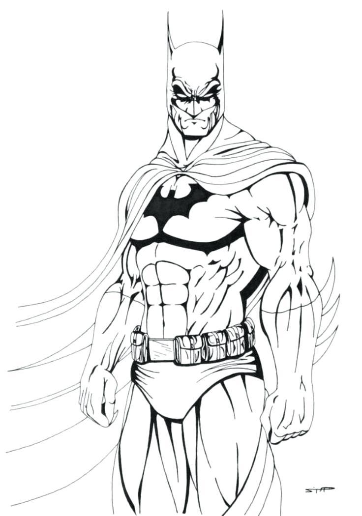 736x1050 Batman Coloring Pages To Print Dc Comics Super Heroes Batman Movie