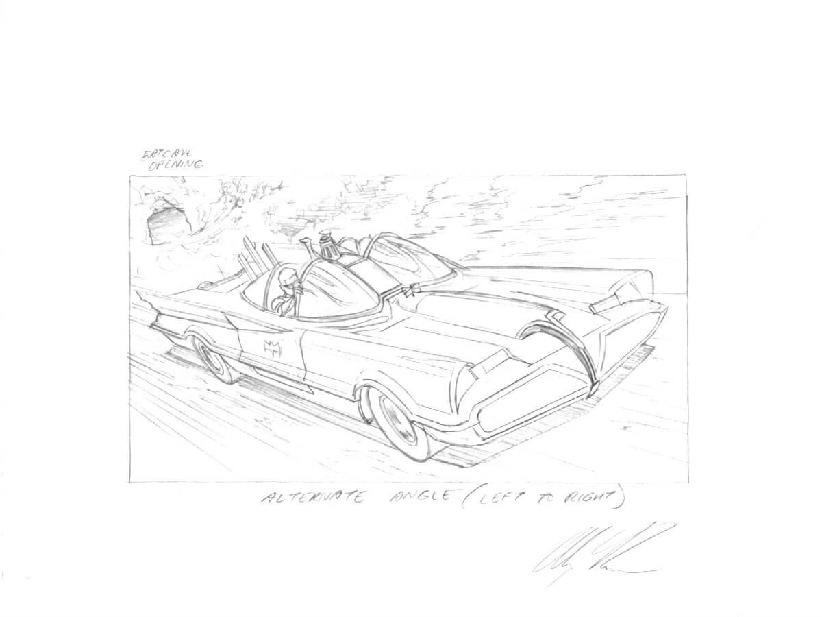 1200x900 The Batmobile By Alex Ross