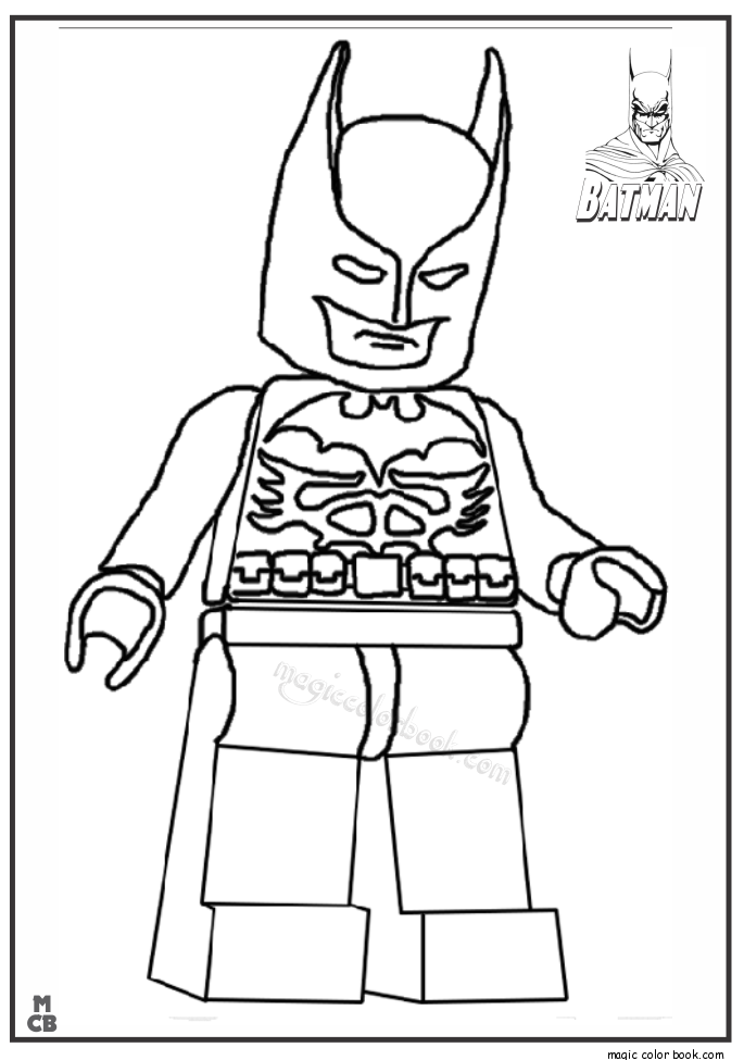 685x975 Batman Coloring Book Pages 20 On Lego