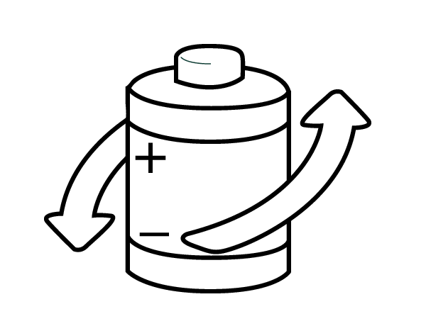 600x460 Recycle Batteries Coloring Page
