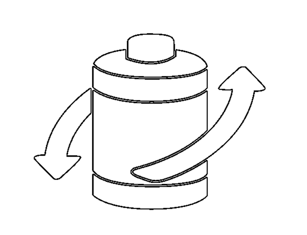 1048x803 Coloring Page Recycle Batteries Color Online Coloringcrew 581358