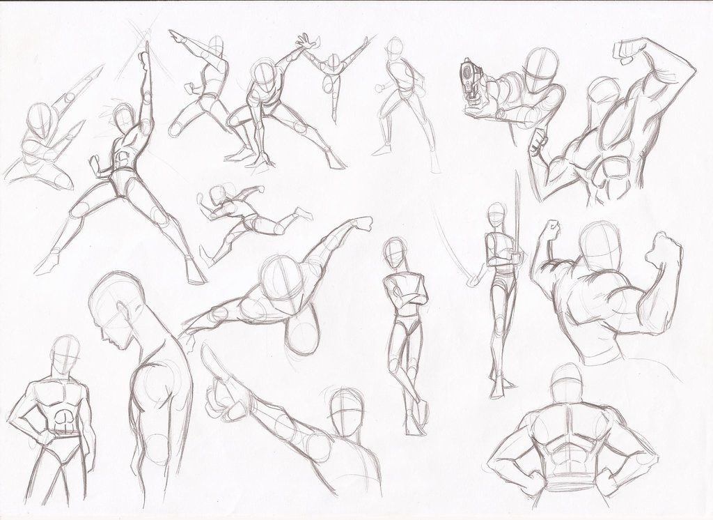 1024x746 Fighting Poses For Drawing Fighting Stances Drawing