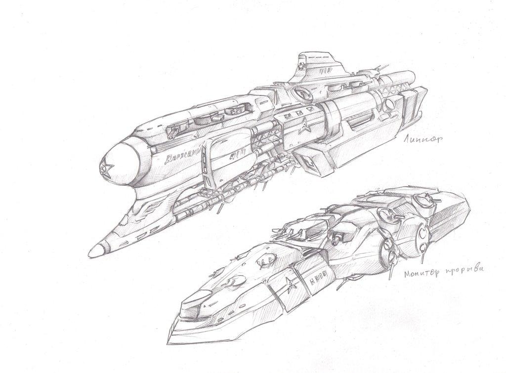 1024x755 Battleship And Assault Monitor By Tugodoomer