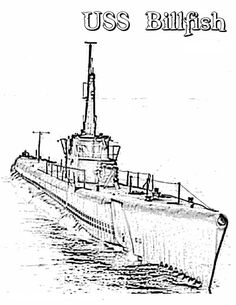 236x305 Coloring Pages To Print Submarine Submarine
