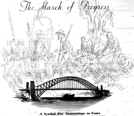 526x455 The Sydney Harbour Bridge And The Aboriginal Shellworkers Of La