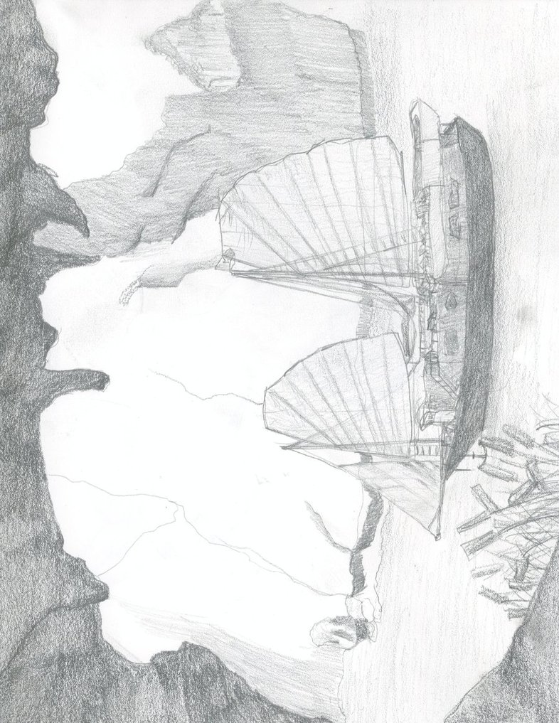 786x1017 Halong Bay Sketch By Dbpaul