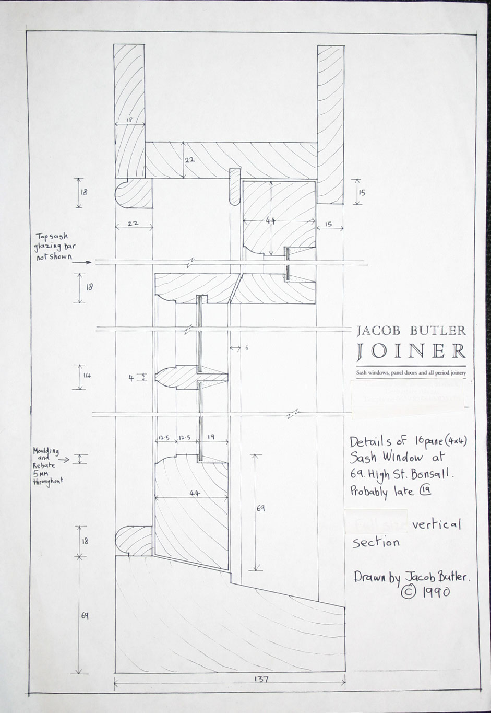 941x1365 Traditional Timber Sash Drawing Archreference