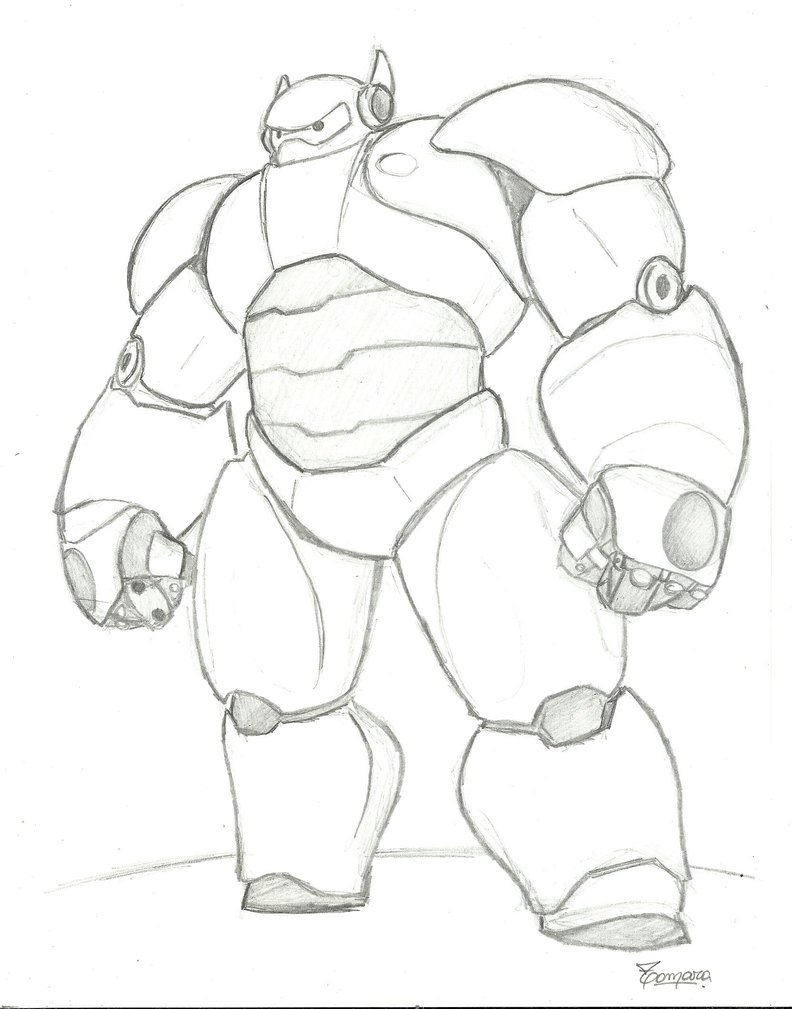 792x1009 Baymax Of Big Hero 6 By Tamaraygisela