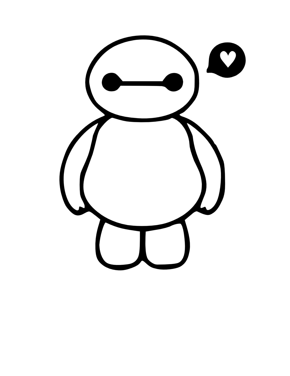 1159x1500 Baymax Decal Baby Baymax Big Hero 6 Big Hero Six Nerdy