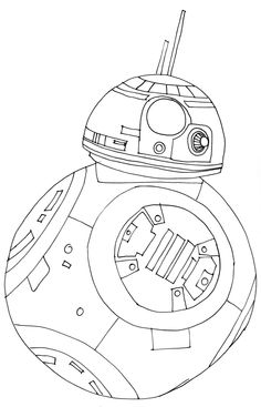 236x367 How To Draw Bb 8 Step 7 Star Wars Party Bb, Star
