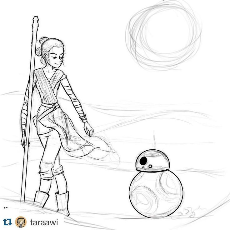 Bb 8 Droid Drawing