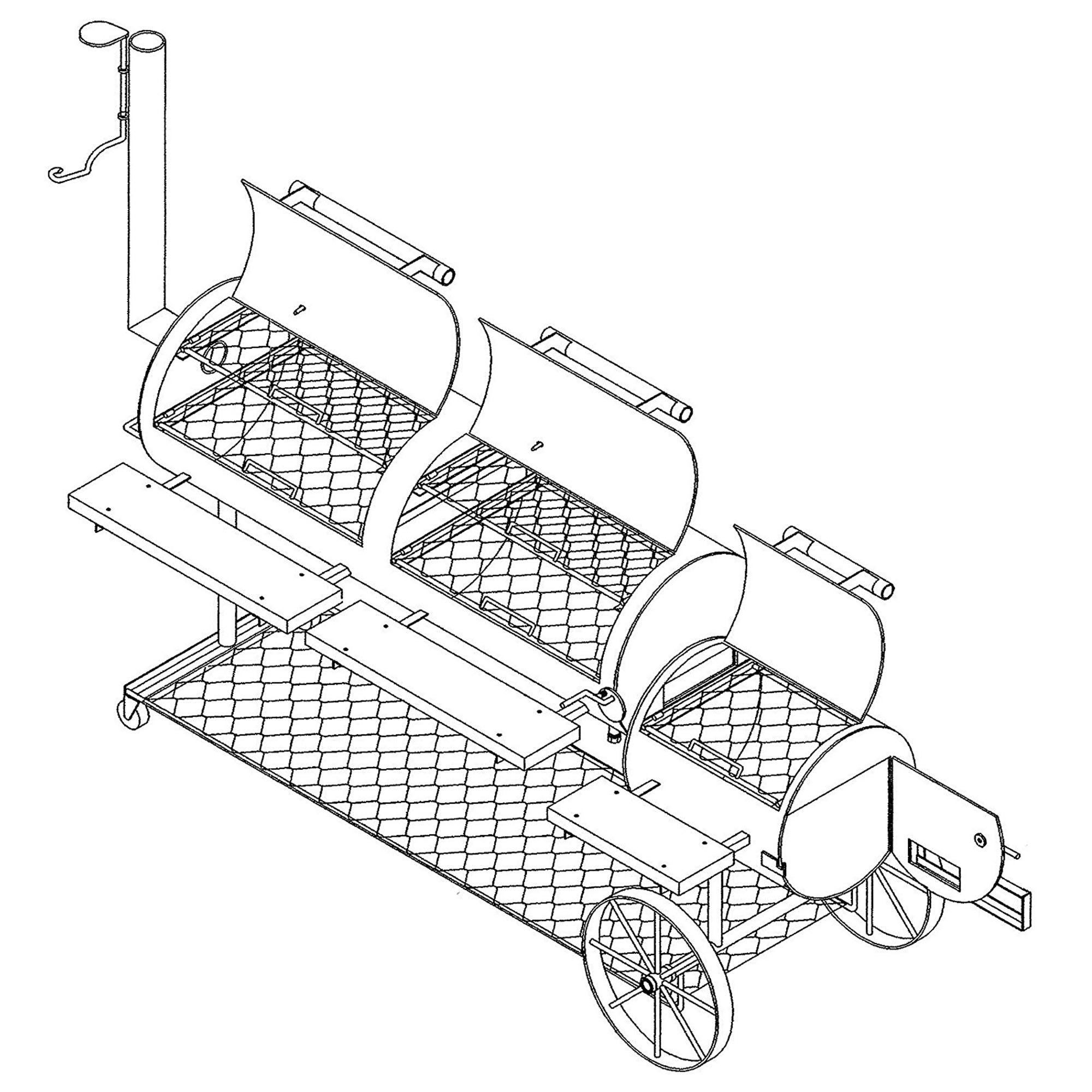 Bbq Pit Drawing at GetDrawings com | Free for personal use