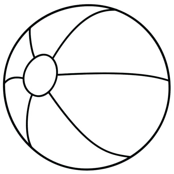 600x600 Ball Coloring Page Synthesis.site