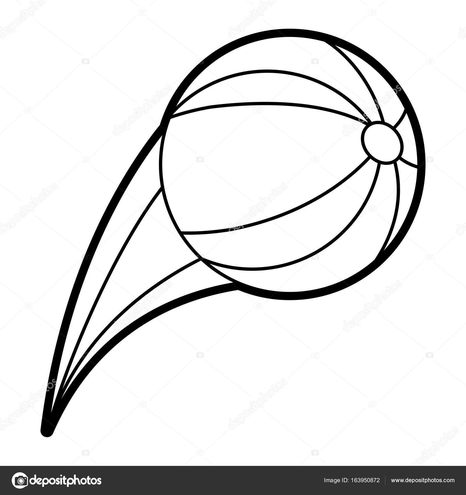 1600x1700 Beach Ball Vector Illustration Stock Vector Jemastock