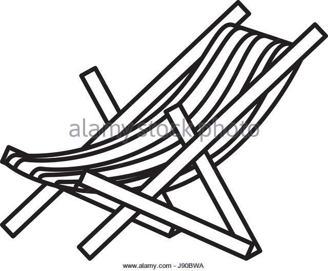 640x529 Beach Deck Chair Vector Stock Photos Amp Beach Deck Chair Vector