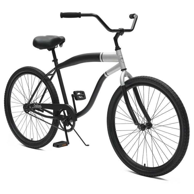 800x800 Critical Cycles Chatham 1 Men's Single Speed Beach Cruiser Bike