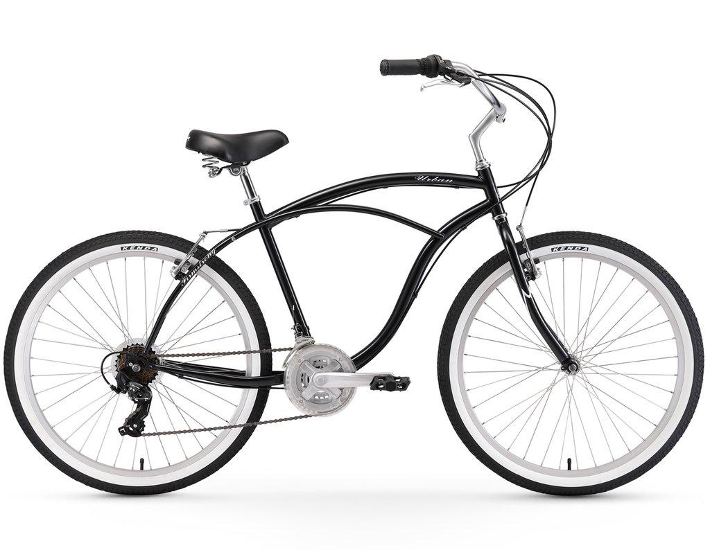 1024x794 Firmstrong Urban Man 26 21 Speed Beach Cruiser Bicycle Beach Bikes