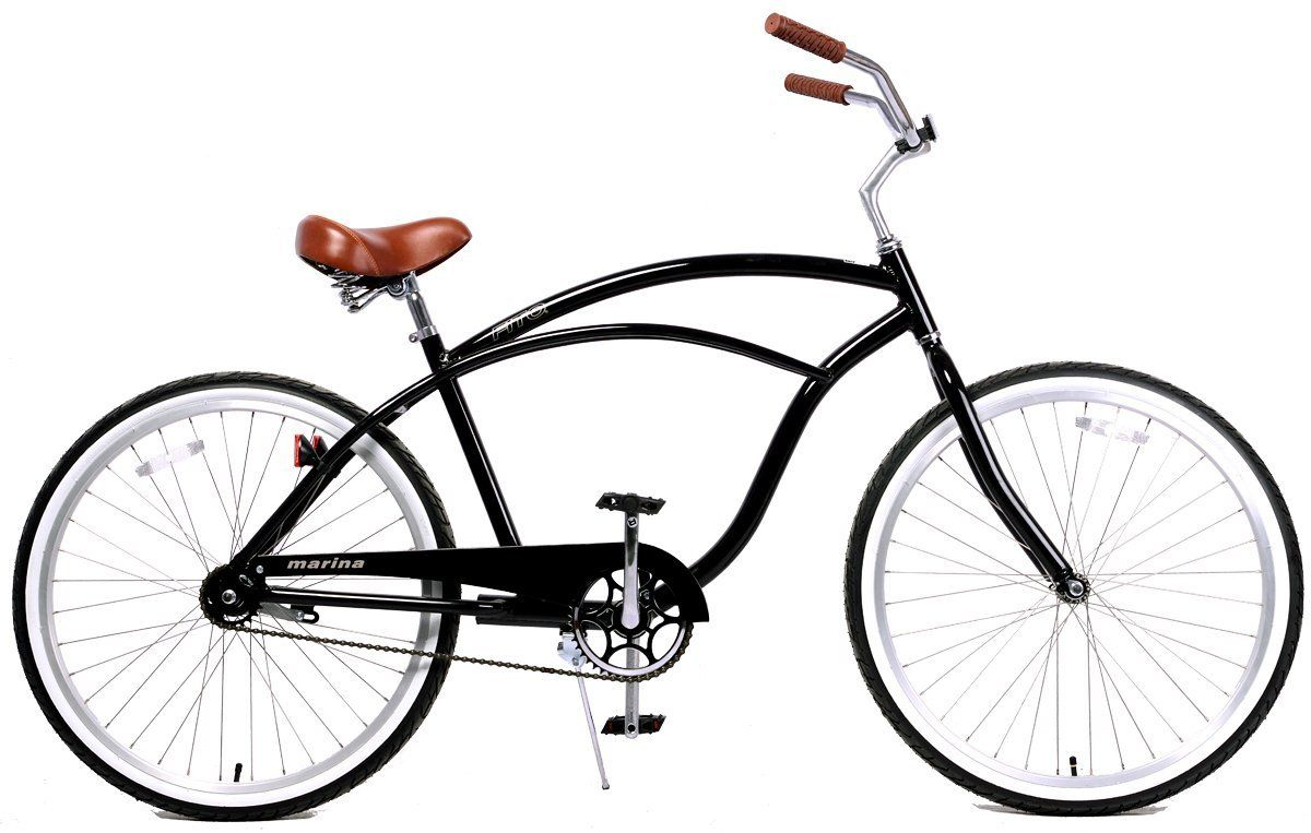 1200x763 Fito Men's Marina Aluminum Alloy 1 Speed Beach Cruiser Bike