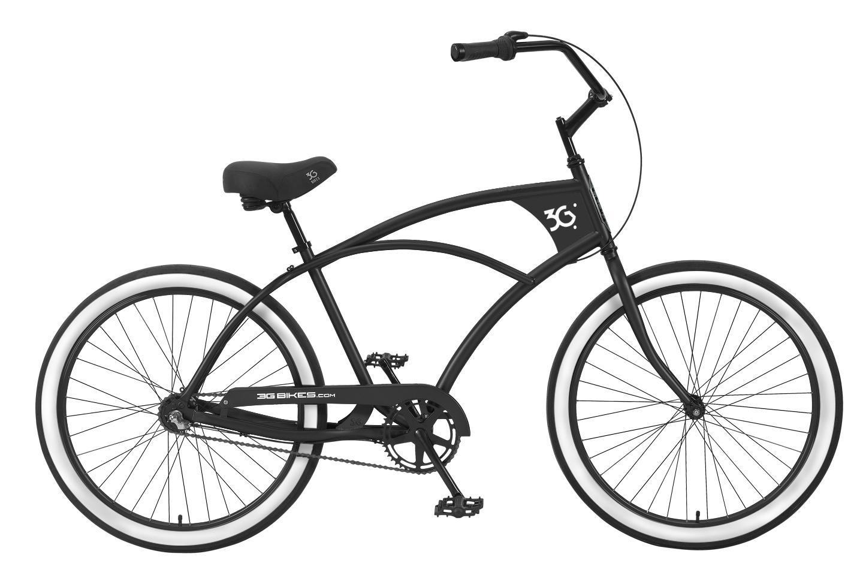 1440x954 3g Bikes Mens Venice 3 Speed Beach Cruisers