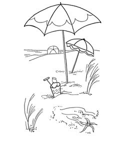 236x288 How To Draw A Beach Scene Step 13 Syd Drawing