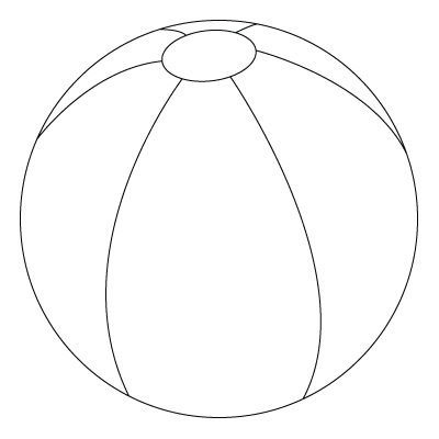 400x400 Beach Drawings You Will Find, Down Below, A Beach Ball Drawing