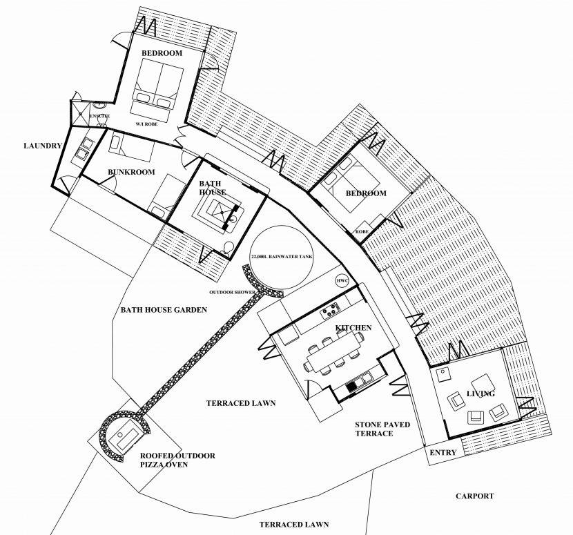 830x775 Floor Plans The Beach House Narrow Lot Ground Traintoball