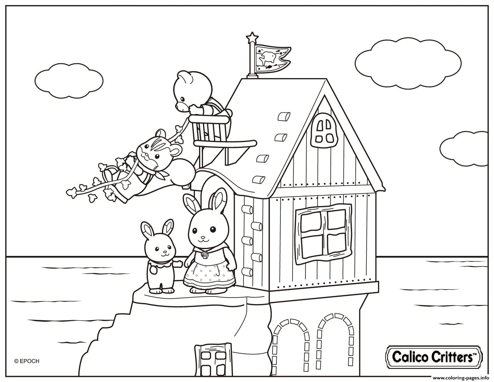 1584x1224 Beach Printable Coloring Pages Free Draw To Color