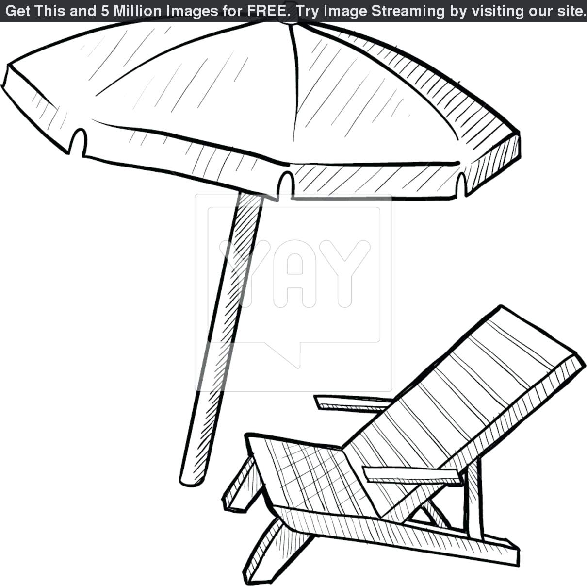 Beach Umbrella Drawing at GetDrawings.com | Free for personal use ...