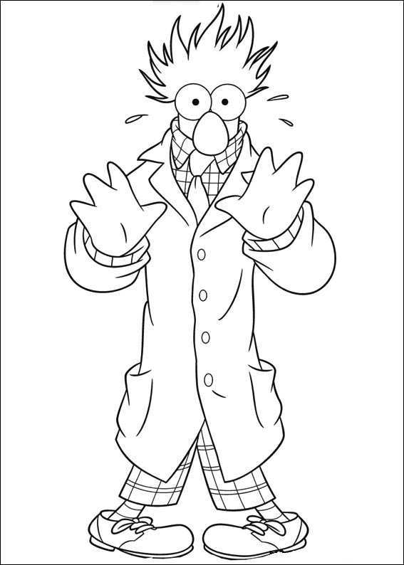 567x794 Muppet Coloring Pages Coloring Page For Kids