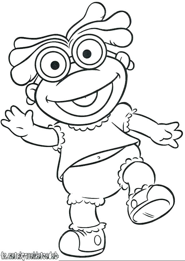 645x912 Muppets Coloring Pages