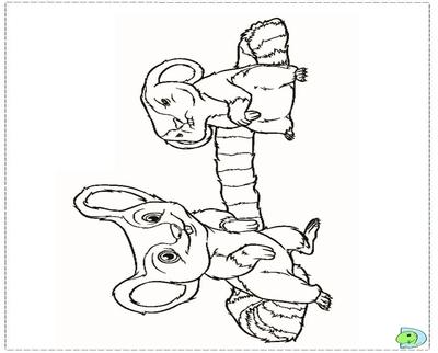 400x322 Beaker Coloring Pages Panda