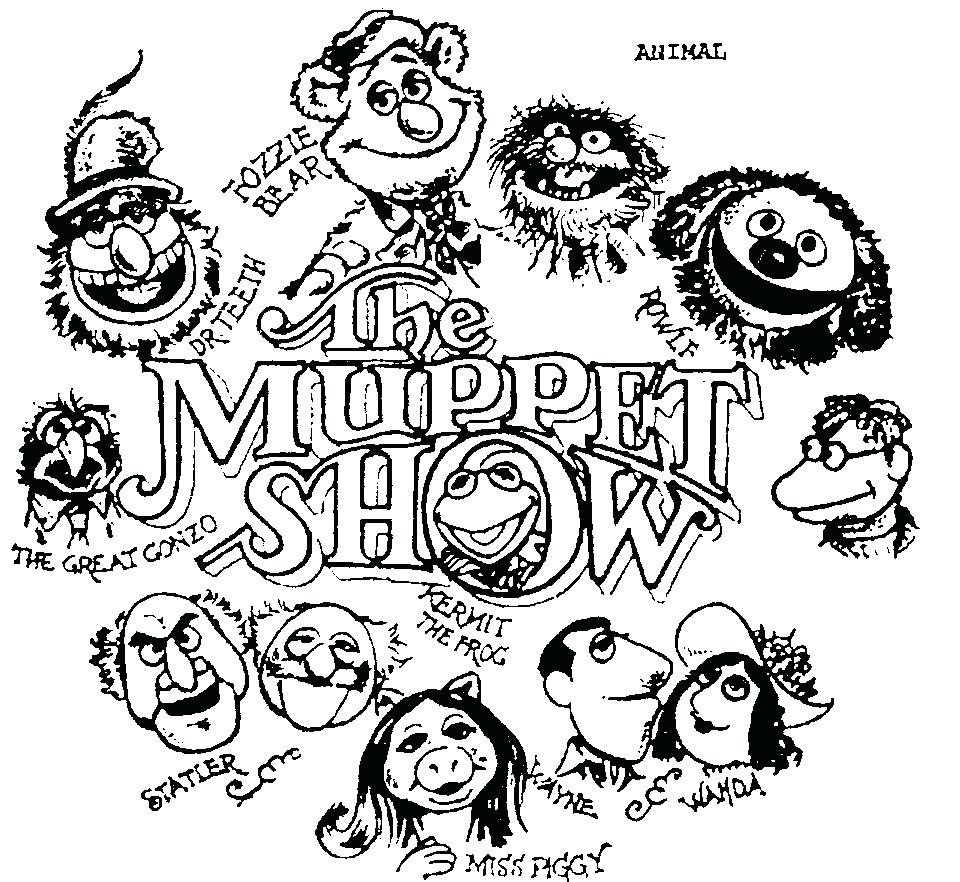 960x882 Coloring Pages Images Muppets Halloween Animal Pdf Muppets