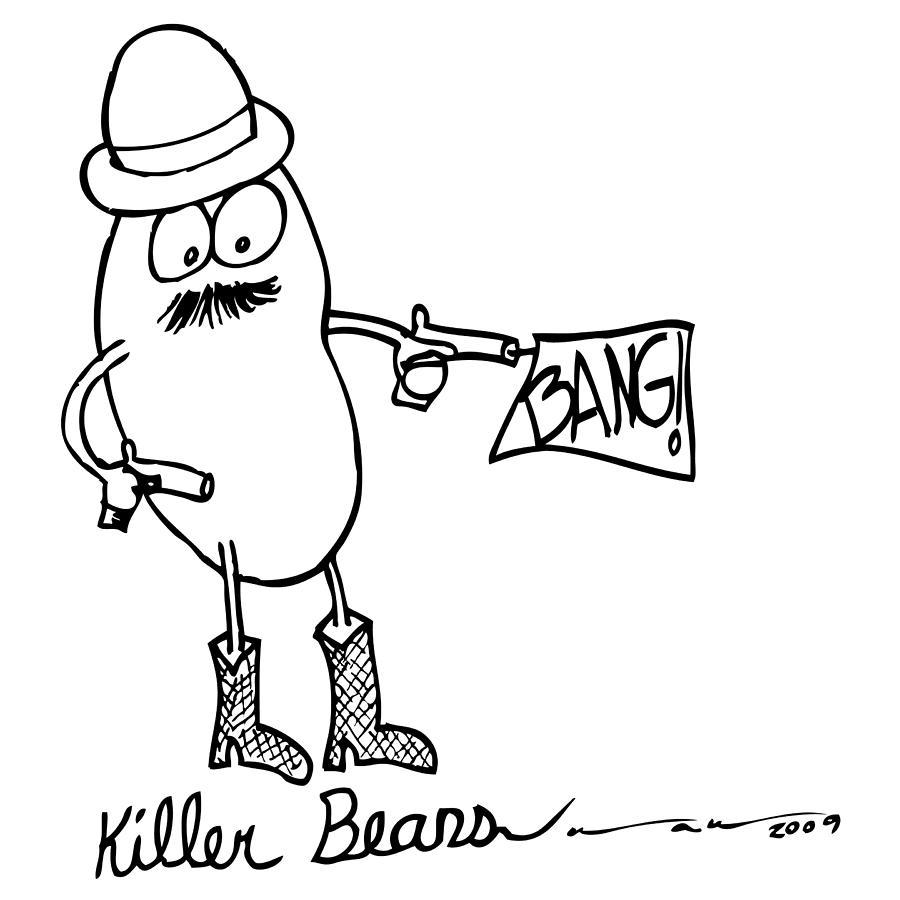 Bean Drawing at GetDrawings.com | Free for personal use Bean Drawing ...
