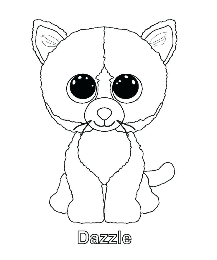 736x881 Beanie Boo Coloring Pages Coloring Pages Beanie Boo Coloring Pages