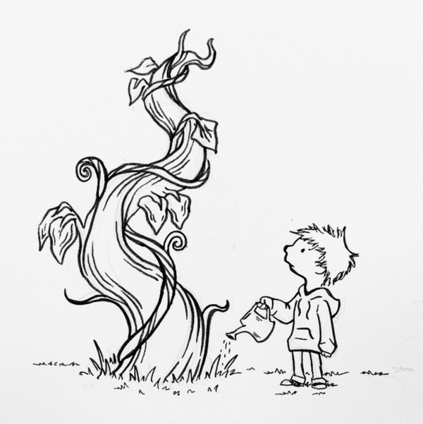 600x601 82 Zach And The Beanstalk By Thedoodledare