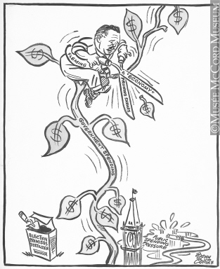 313x384 M965.199.8916 Don And The Beanstalk. Drawing, Cartoon John