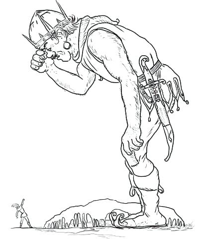 404x480 Giant Coloring Page Jack And The Beanstalk Coloring Pages Click