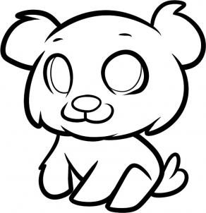 292x302 How To Draw How To Draw A Cub For Kids