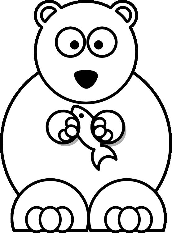555x750 Bear Cartoon Drawing