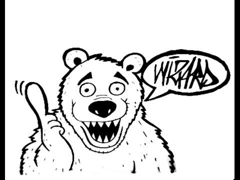480x360 How To Draw A Bear Cartoon