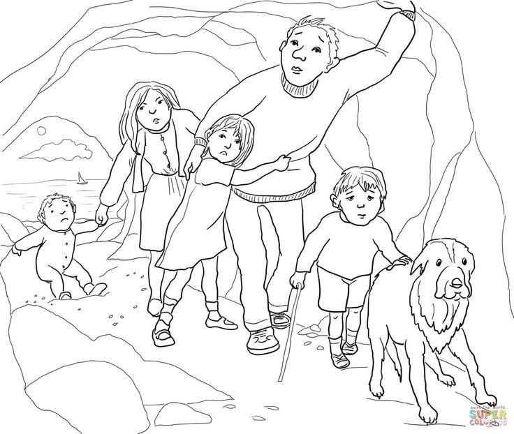 Bear Cave Drawing