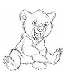213x237 Image Result For Cute Bear Sketch Artwork Bear