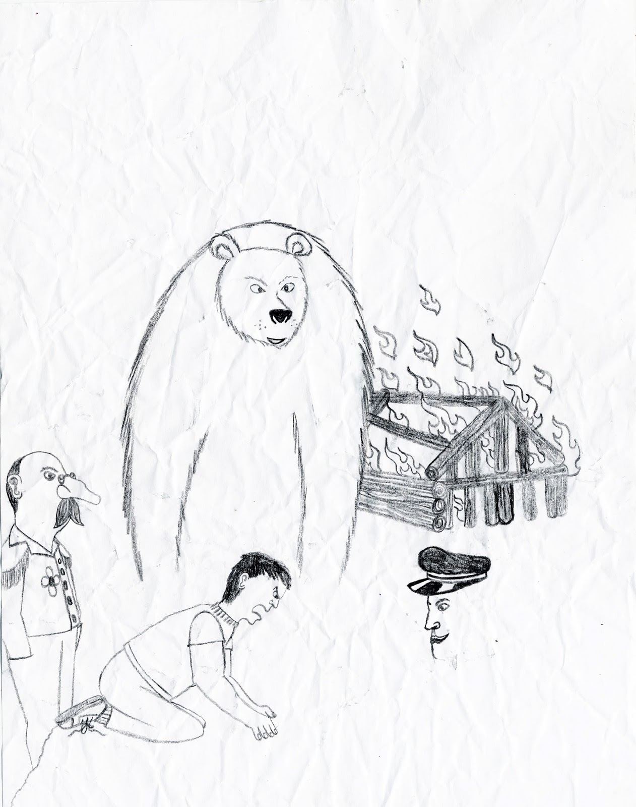 1262x1600 Santiago Evolution Of An Artist Touching Spirit Bear Drawings