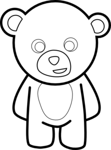 Bear Drawing Step By Step