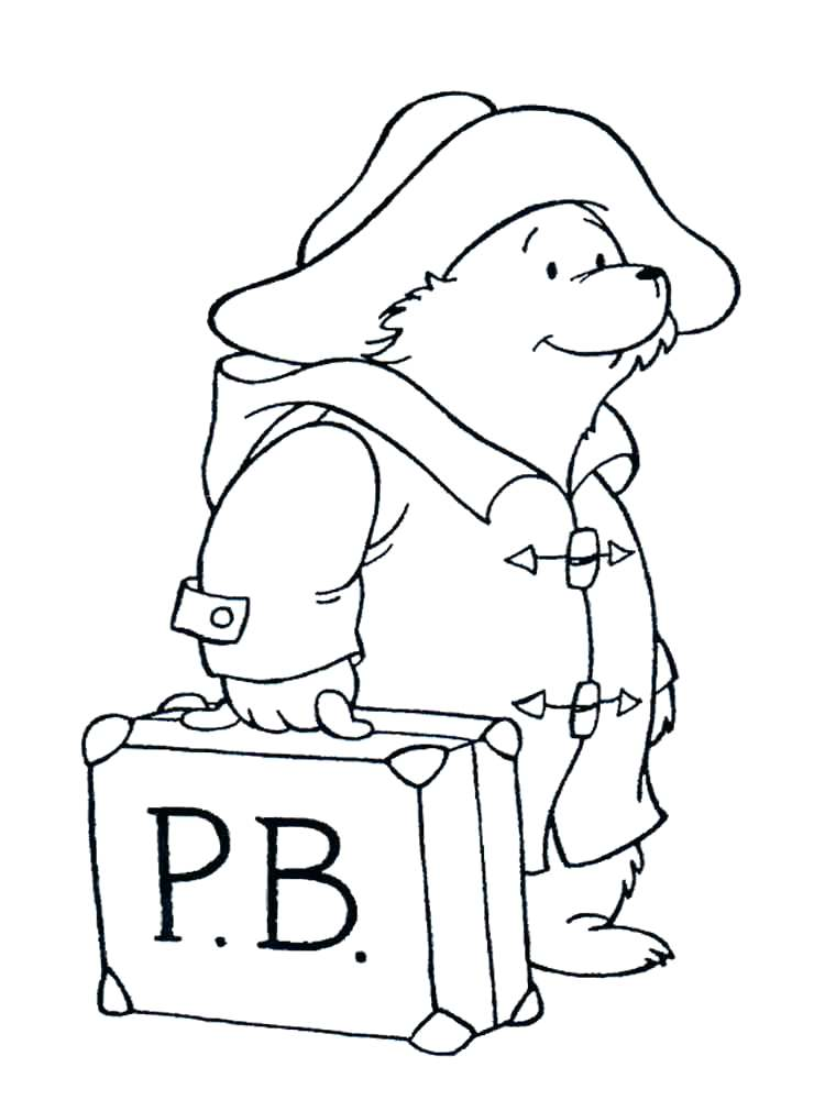 750x1000 Bear Face Coloring Page For Black Bear Coloring Page Standing