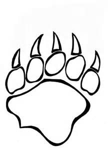 Superior 220x300 Grizzly Bear Paw Drawing